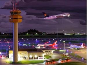 L'aeroporto in miniatura
