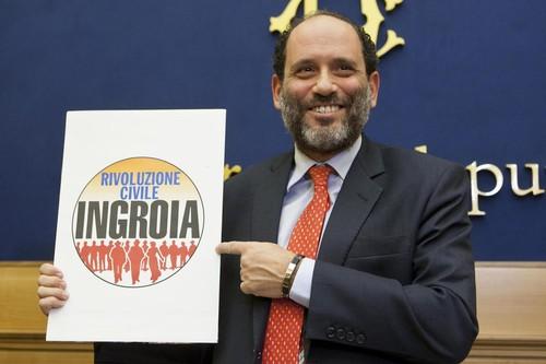 Conferenza stampa di Antonio Ingroia