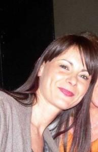 Lucia Annibali prima di essere sfigurata dall'acido