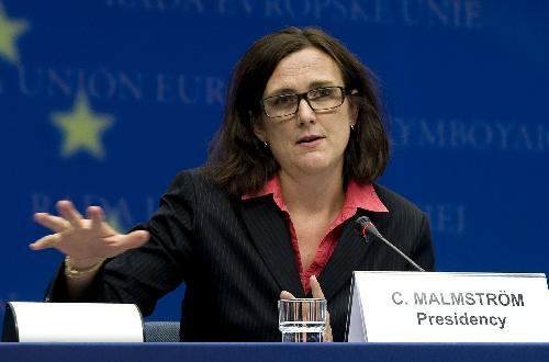 Cecilia Malmstrom, commissaria europea agli Affari interni