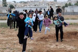 ++ SIRIA: UNHCR, 11MILA PERSONE FUGGITE IN ULTIME 24 ORE ++