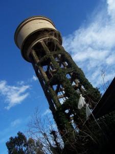 Torre dell'acqua dell'ex Chimica Arenella