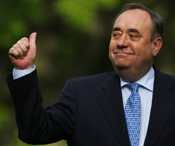 Alex Salmond, premier scozzese