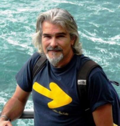 Andrea Zunino, leader del Movimento 9 dicembre