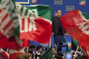 FI giovane Italia - Manifestazione forza Italia giovani