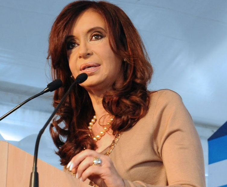 Cristina Fernández de Kirchner, presidente dell'Argentina