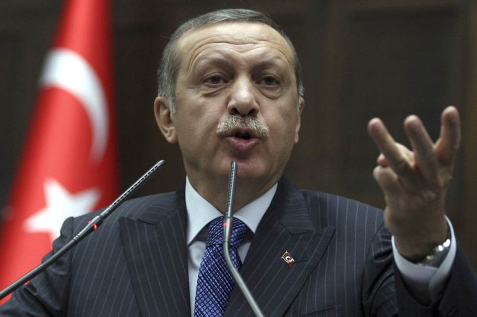 Il premier turco Recep Tayyip Erdogan
