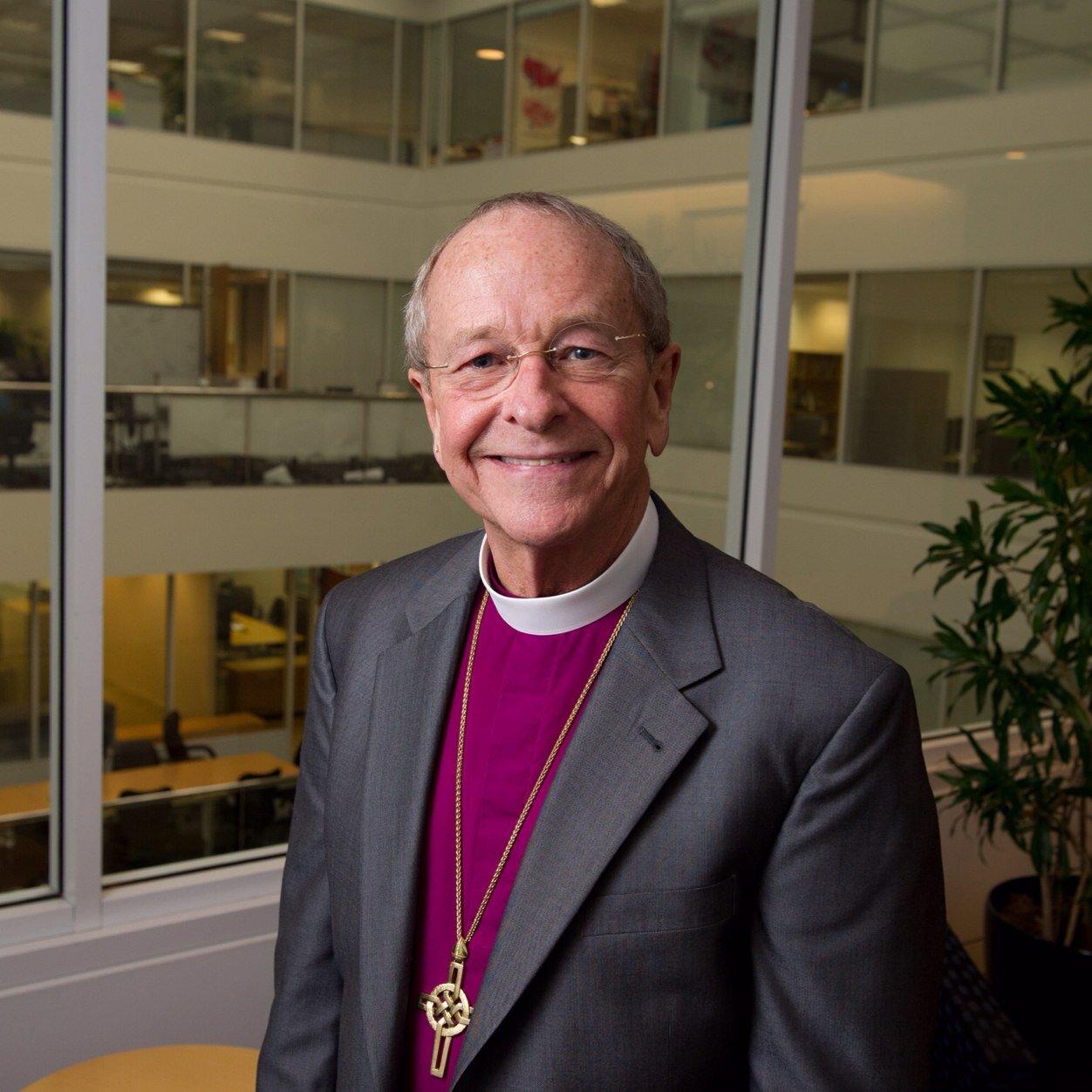 Il vescovo Gene Robinson