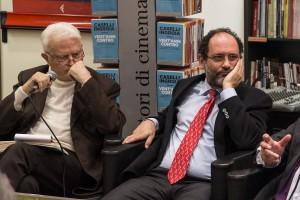 Gian Carlo Caselli e Antonio Ingroia (Foto di Fabrizio Gurcio)
