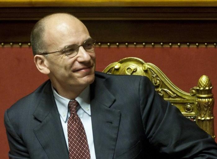 Il presidente del Consiglio, Enrico Letta