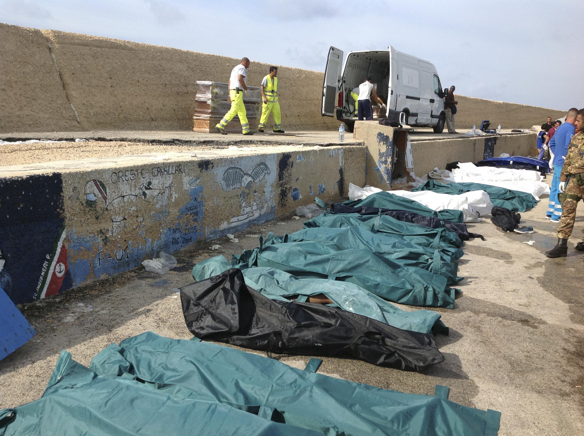 Tragedia a Lampedusa