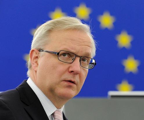 Olli Rehn, commissario europeo agli affari economici