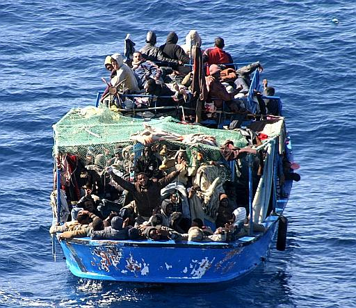 Profughi_Lampedusa