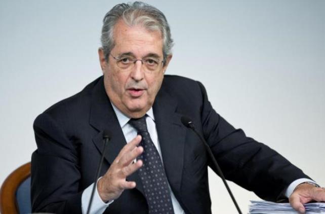Fabrizio Saccomanni, ministro dell'Economia