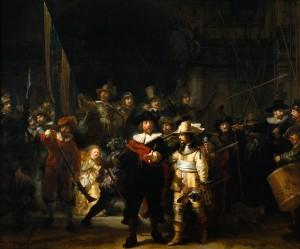 """""""La Ronda di notte"""" di Rembrandt"""