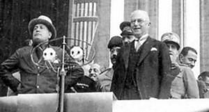 Mussolini in visita alla Fiat