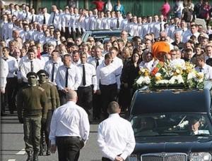 Funerali di Alan Ryan
