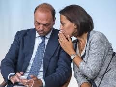Angelino Alfano e Nunzia De Girolamo (NCD)