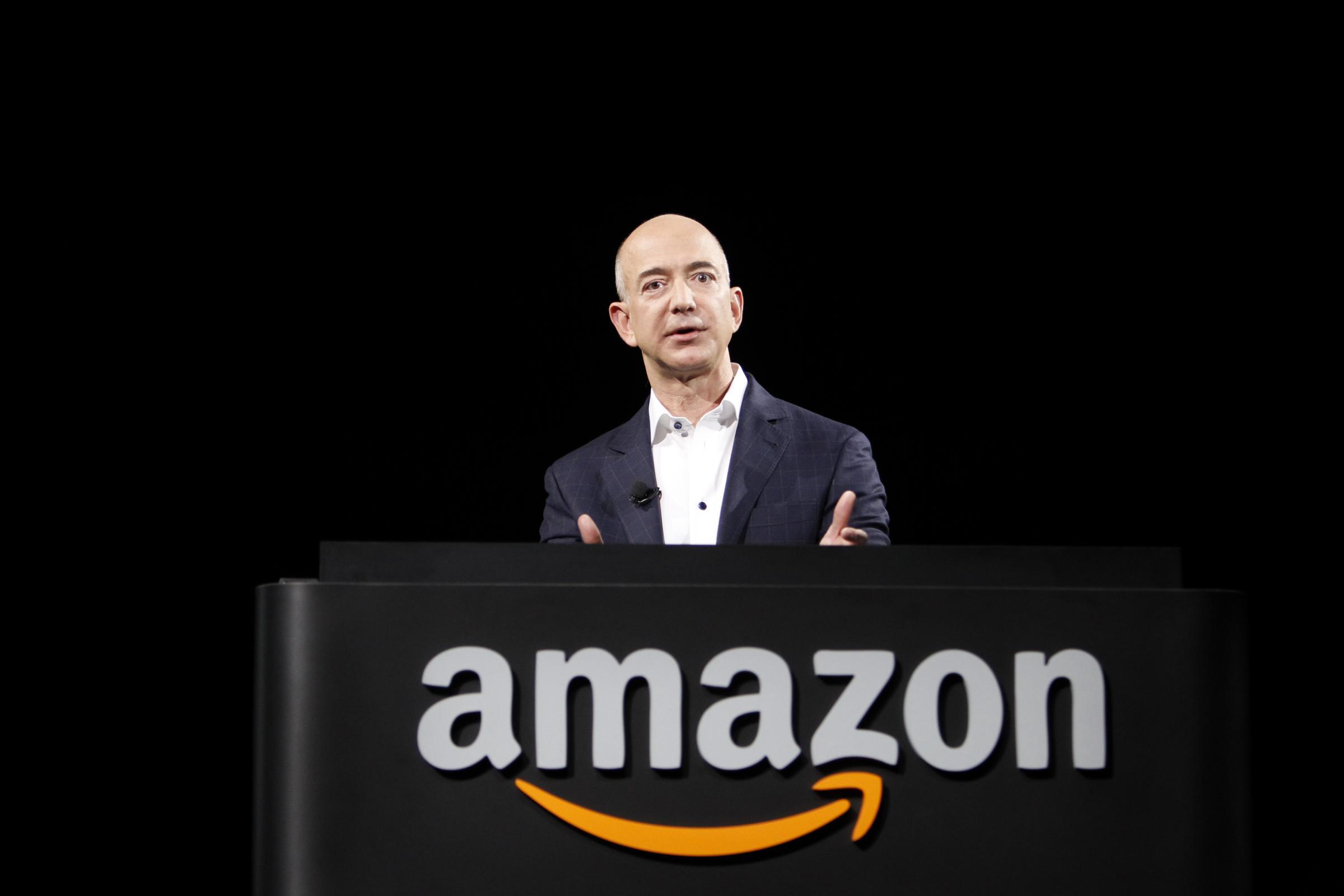 Jeff Bezos, fondatore e amministratore delegato di Amazon