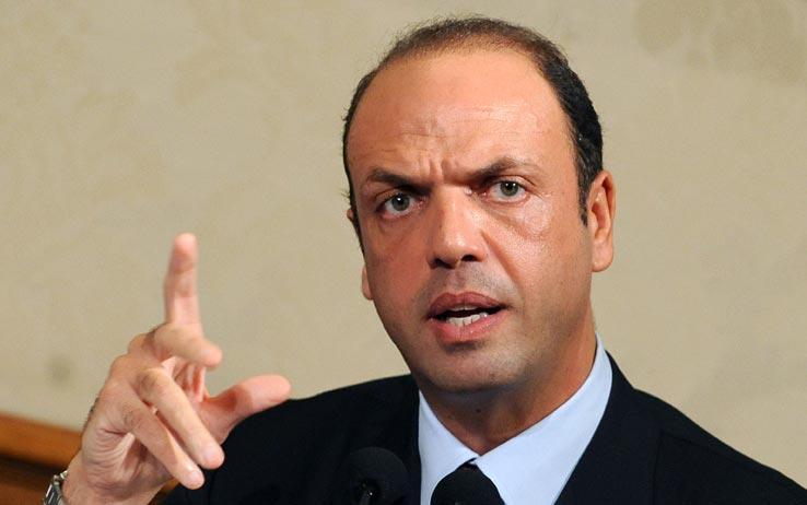 Il vice premier e ministro dell'Interno, Angelino Alfano