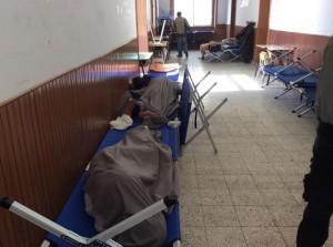 Foto della situazione dell' ex scuola di Augusta che ospita i minori (Immagine tratta dalla pagina facebook dell' Onorevole Chaouki)