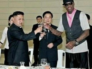 Kim Jong Un e Dennis Rodman