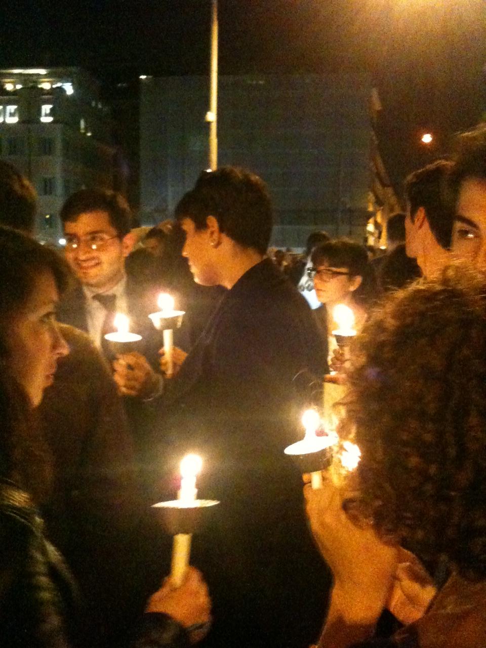 candele omofobia