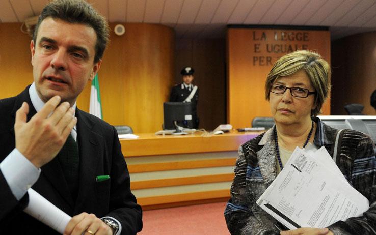 Roberto Cota (sx) e Mercedes Bresso (dx)