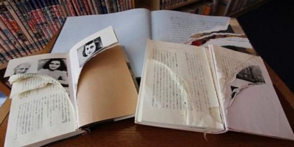 """Le copie del """"Diario di Anna Frank"""" vandalizzate"""