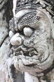 Statua demoniaca in Thailandia