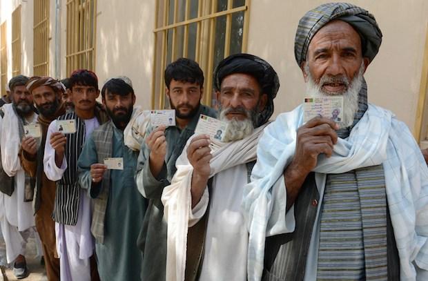 AFGHANISTAN-VOTE