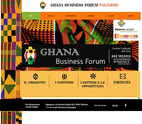 Locandina 'Ghana Business Forum'