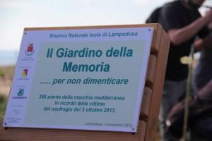 giardino della memoria_lampedusa