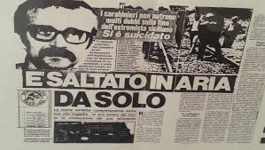 giornale morte peppino