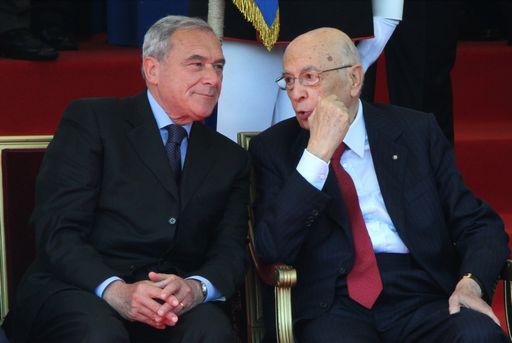 Pietro Grasso e Giorgio Napolitano