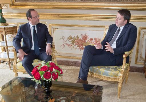 François Hollande e Matteo Renzi