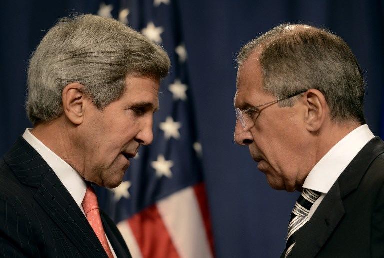 John Kerry e Sergej Lavrov
