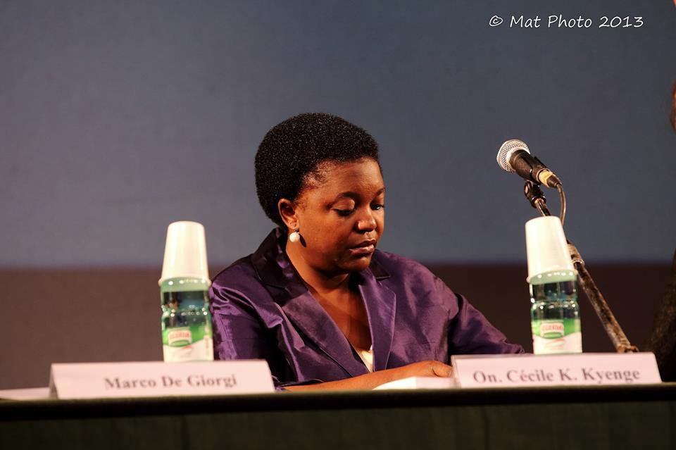 Il ministro Cecile Kyenge