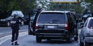 L'auto su cui viaggiava Hélène Pastor al momento dell'agguato
