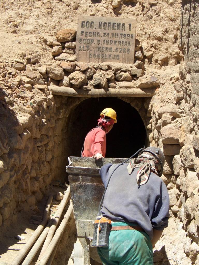 Una miniera in Sudafrica