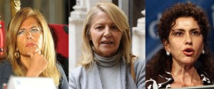 Emma Marcegalia, Patrizia Grieco,  Luisa Tondini