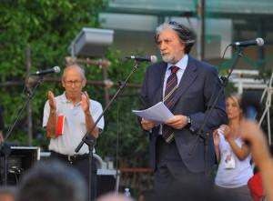 20 anni dalla morte di Borsellino - Commemorazione per ricordare la starge di via D'Amelio