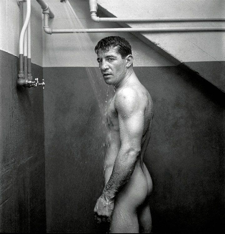 Rocky Graziano fotografato da Kubrick nel 1949