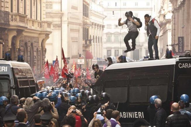 scontri-31-ottobre-roma1